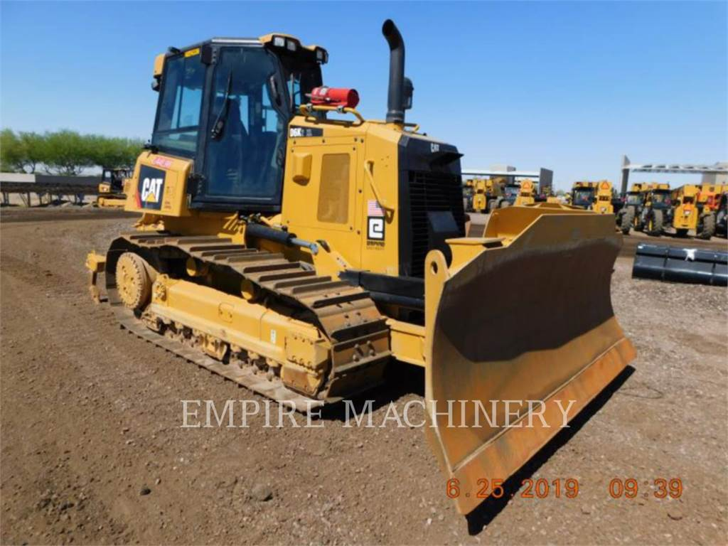 Caterpillar D6K2, Dozers, Construction