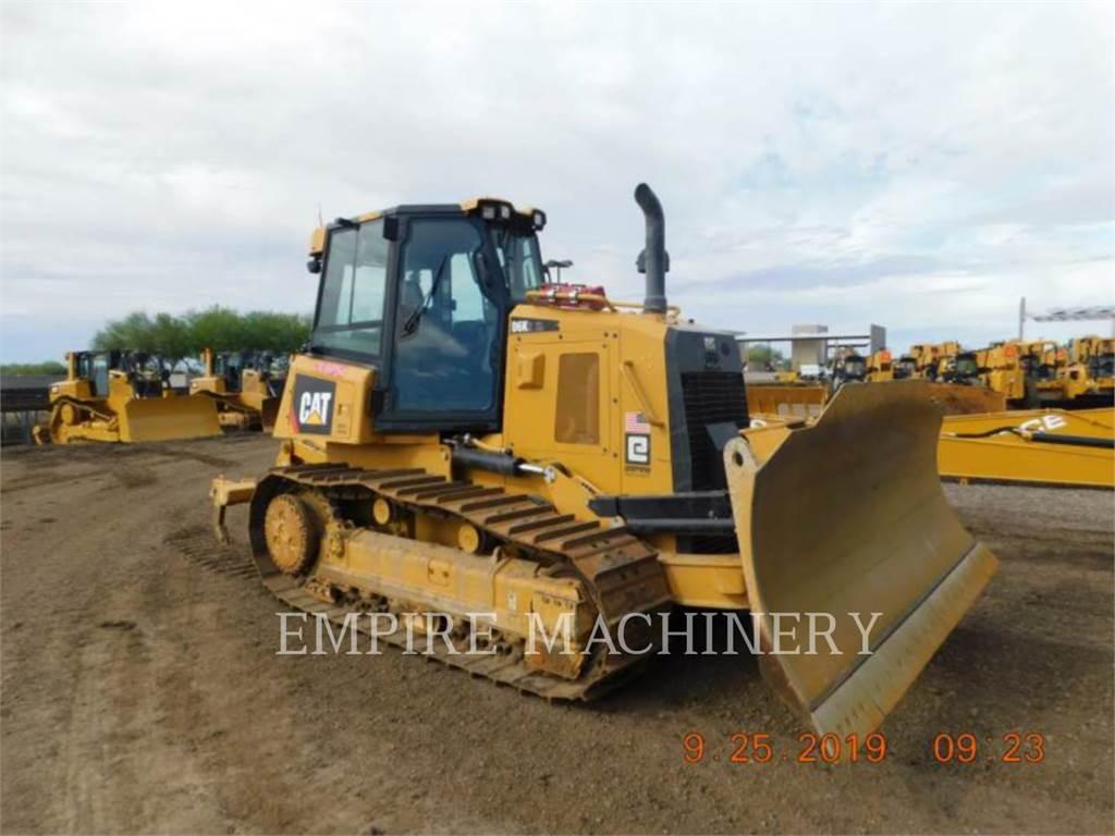 Caterpillar D6K2, Bulldozers, Construcción