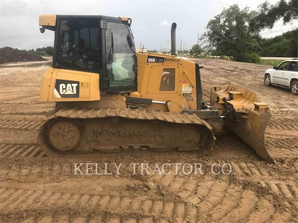 Caterpillar D6K2LGP, Bulldozers, Construcción