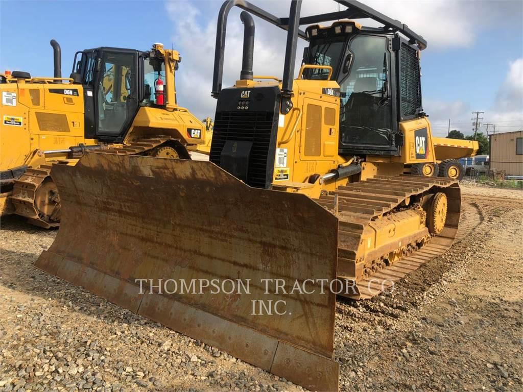 Caterpillar D6K2LGP, buldozere pe senile, Constructii
