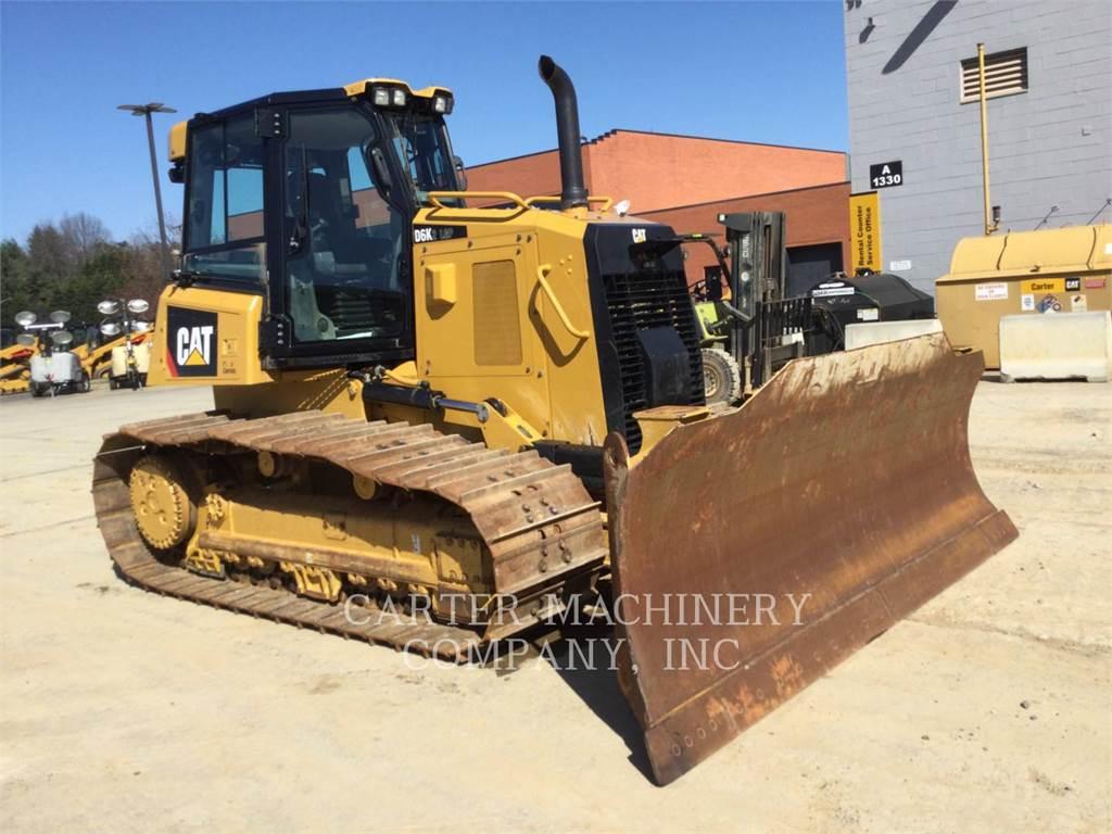Caterpillar D6K2LGP, Crawler dozers, Construction