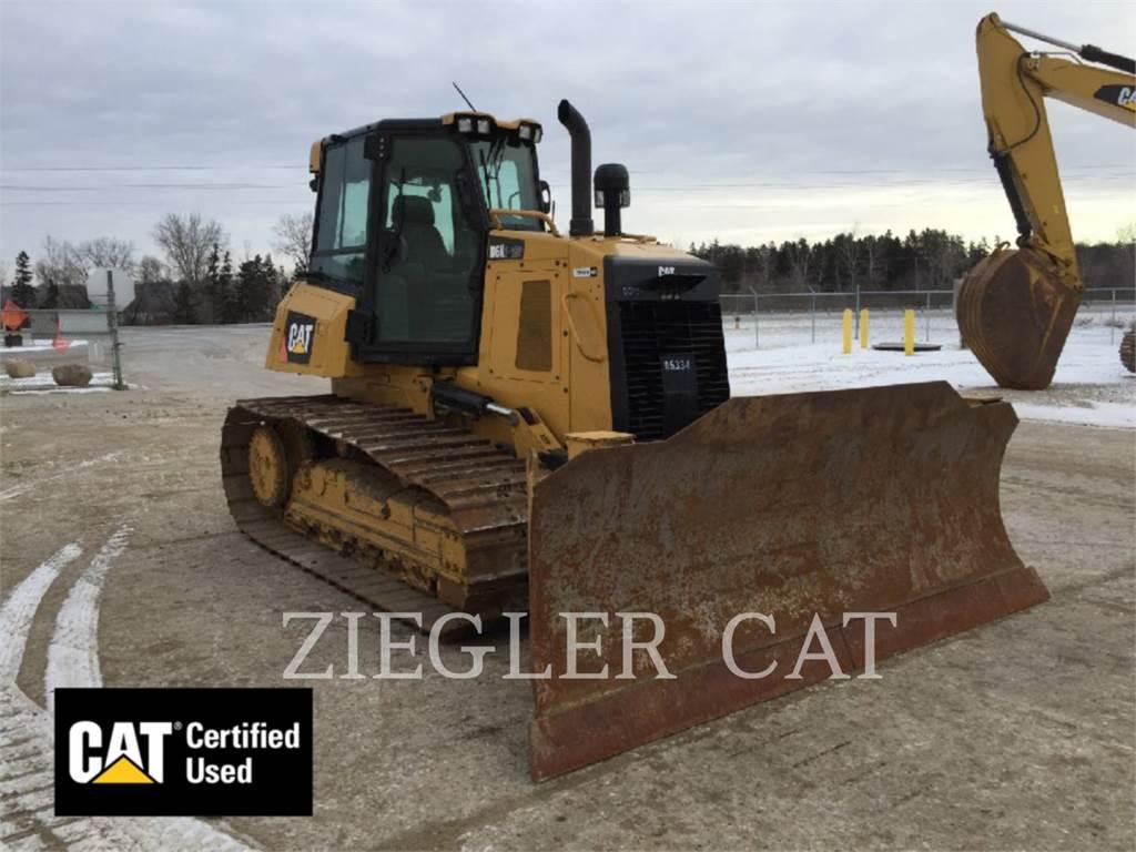 Caterpillar D6K2LGP, Planierraupen, Bau-Und Bergbauausrüstung
