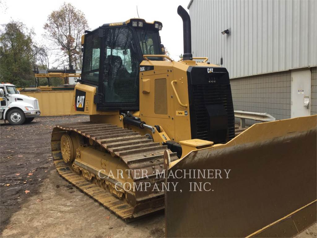 Caterpillar D6KLGP, Crawler dozers, Construction