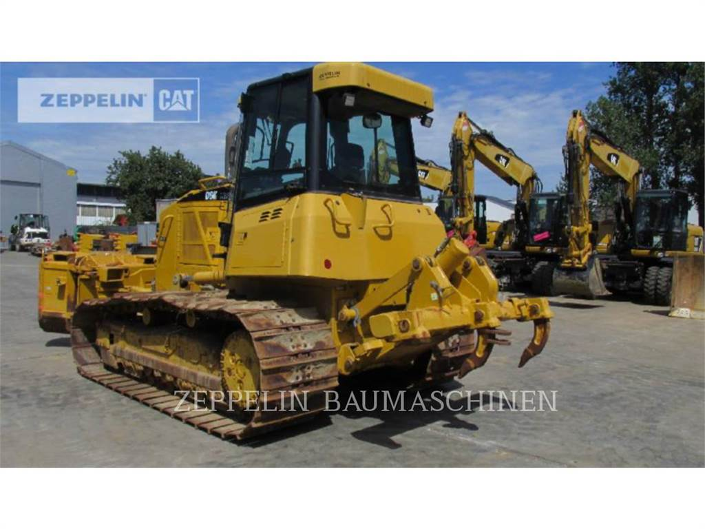 Caterpillar D6KMP, Dozers, Construction