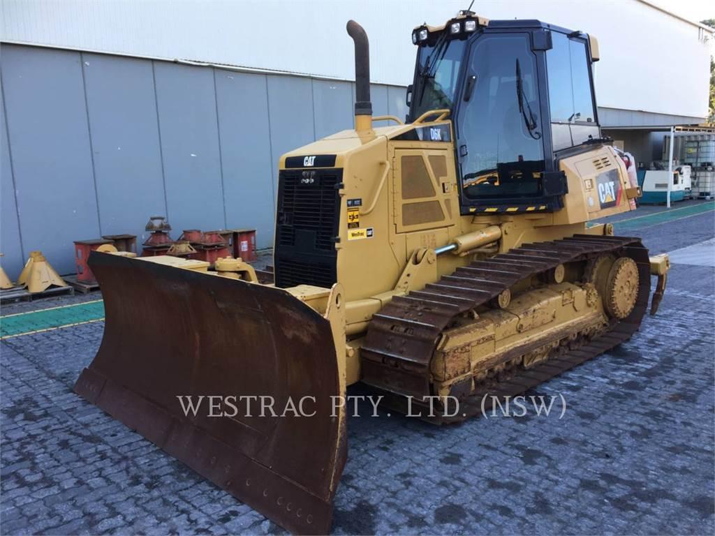 Caterpillar D6KXL, Dozers, Construction