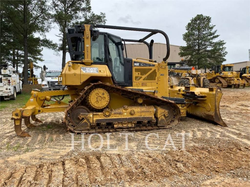 Caterpillar D6N, Bulldozers, Bouw