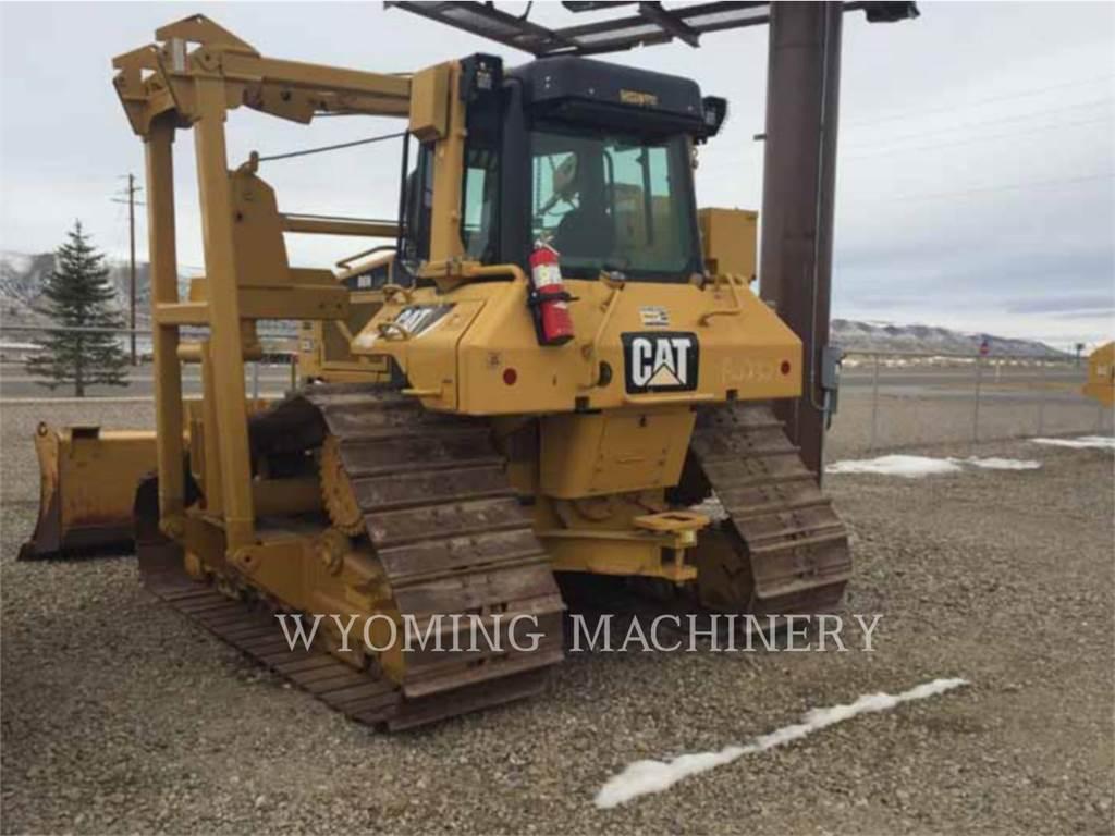 Caterpillar D6N LGP PL, pipelayers, Construction