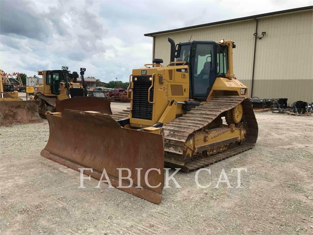 Caterpillar D6N LGPARO, Crawler dozers, Construction