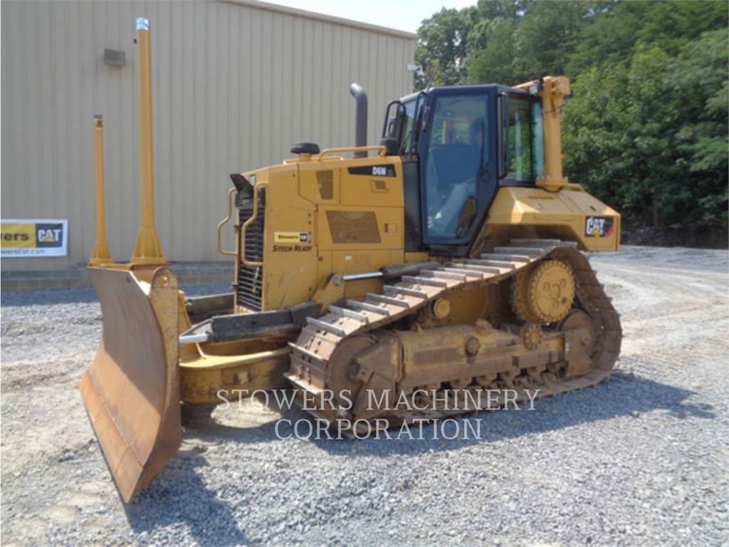 Caterpillar D6N XL, track loaders, Construction