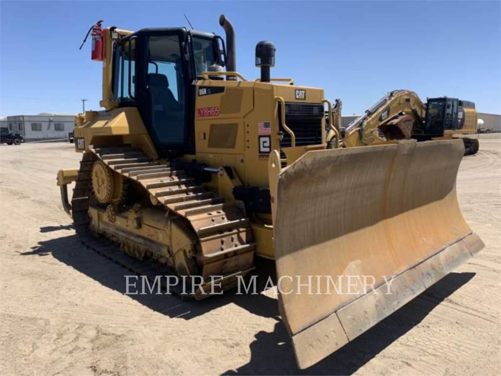 Caterpillar D6N XL ARO, Buldozer sobre oruga, Construcción