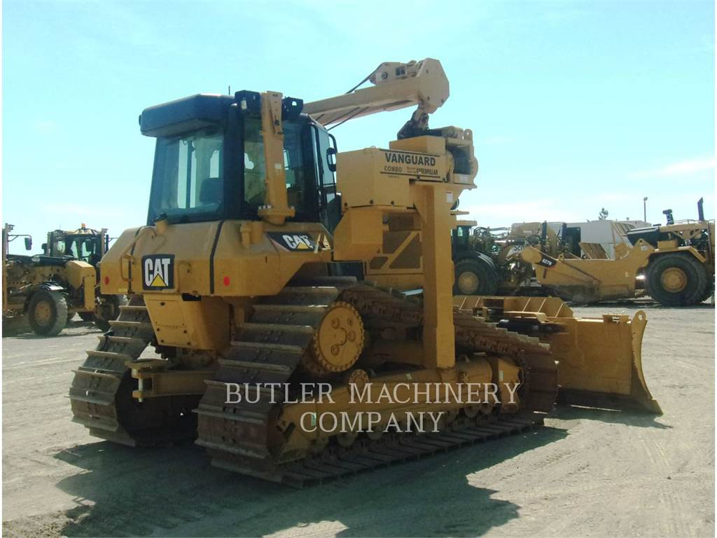 Caterpillar D6NLGP, pipelayers, Construction