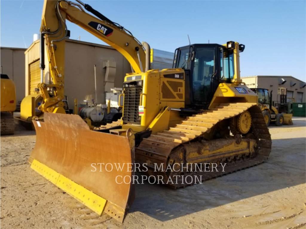 Caterpillar D6NLGP, cargadores de cadenas, Construcción