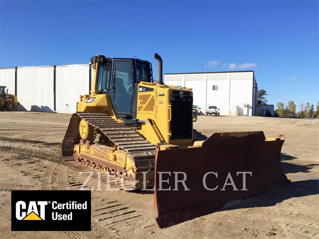 Caterpillar D6NLGP, Tratores de rastos, Equipamentos Construção