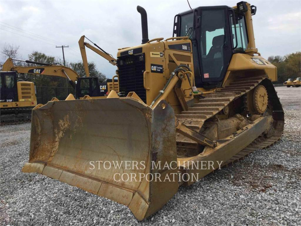 Caterpillar D6NXL, Crawler dozers, Construction