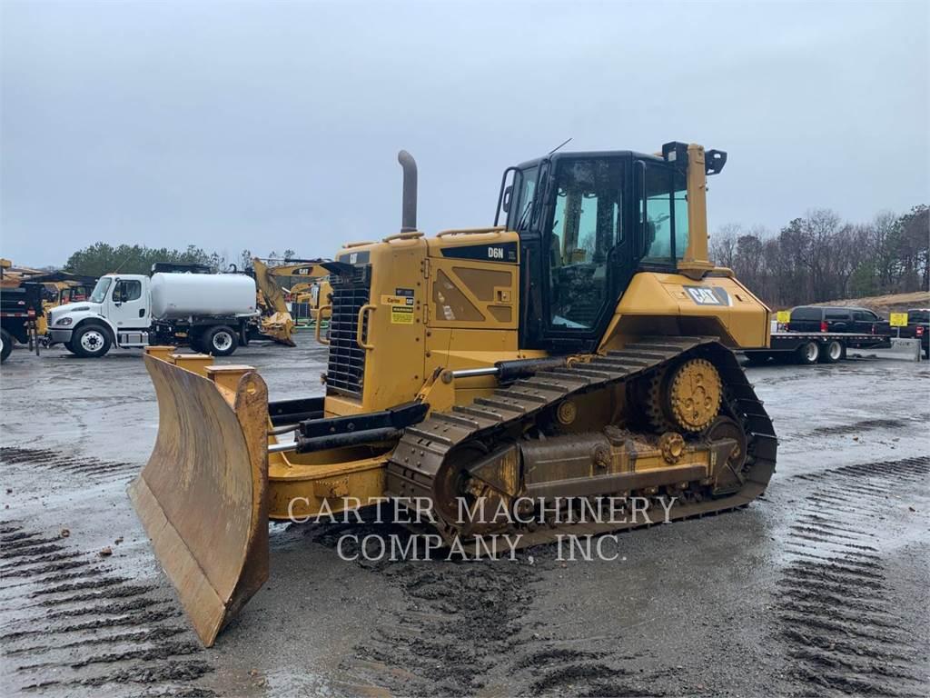 Caterpillar D6NXL, Crawler dozers, Construction