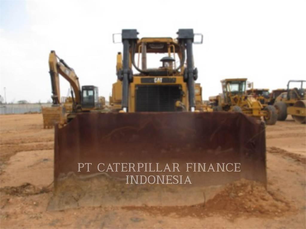 Caterpillar D6R, Bulldozers, Bouw