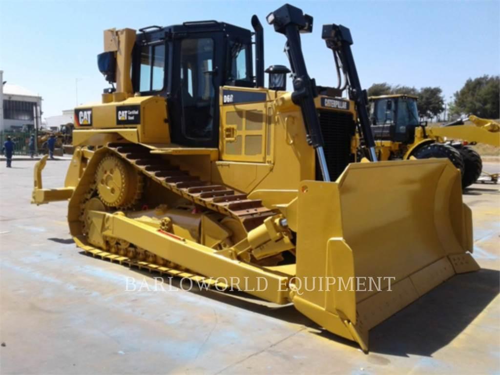 Caterpillar D6R, Spycharki, Sprzęt budowlany