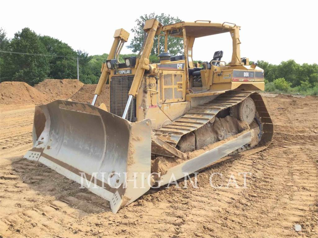 Caterpillar D6R, Bulldozers, Construcción