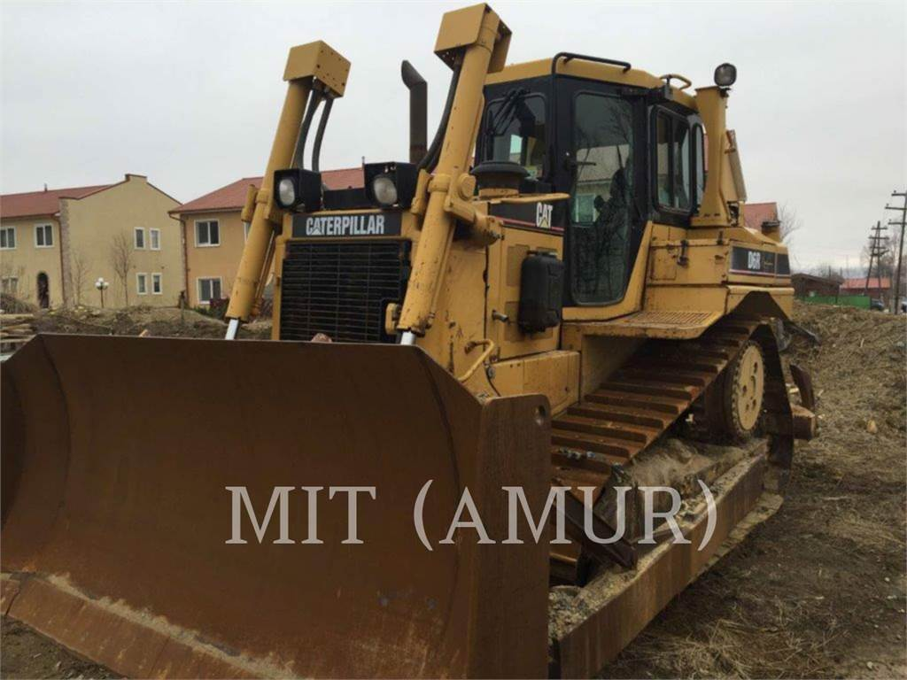 Caterpillar D6RII, Dozers, Construction
