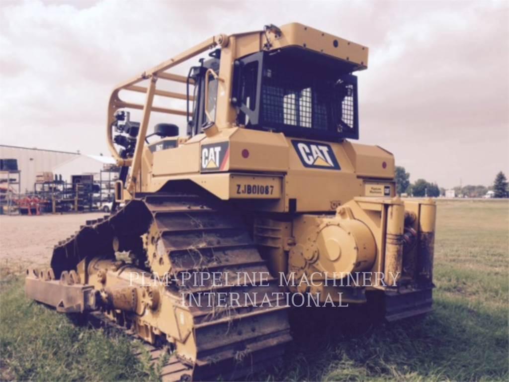 Caterpillar D6T、ブルドーザー、建設