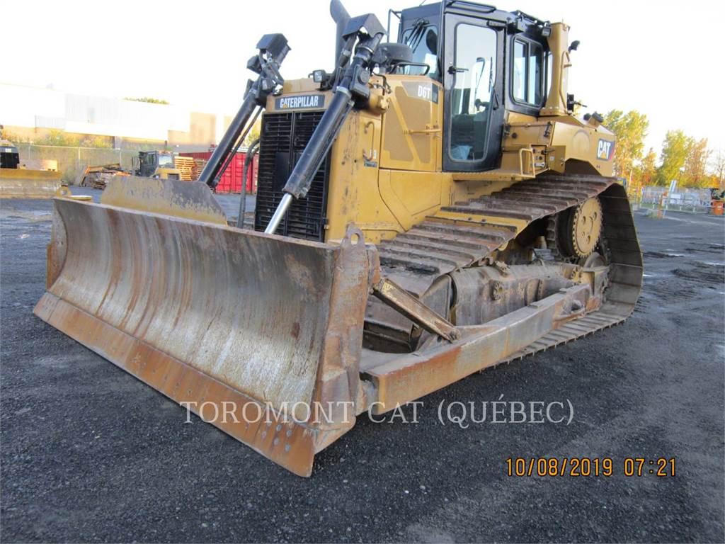 Caterpillar D6T, Buldozere, Constructii