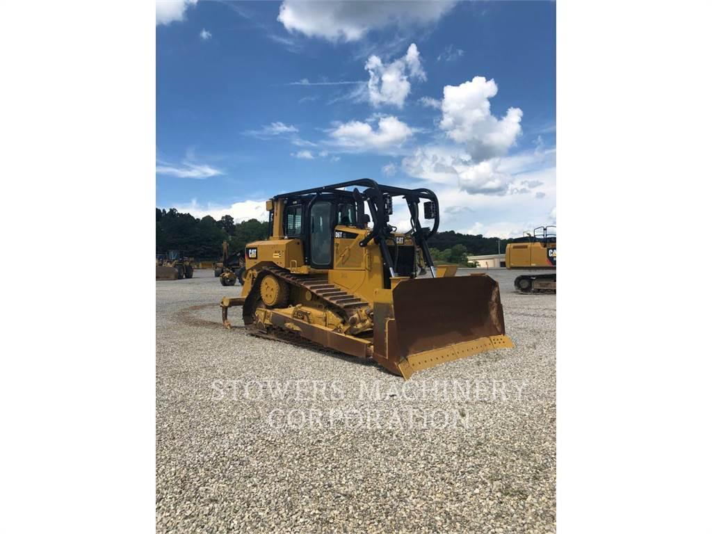 Caterpillar D6T, track loaders, Construction