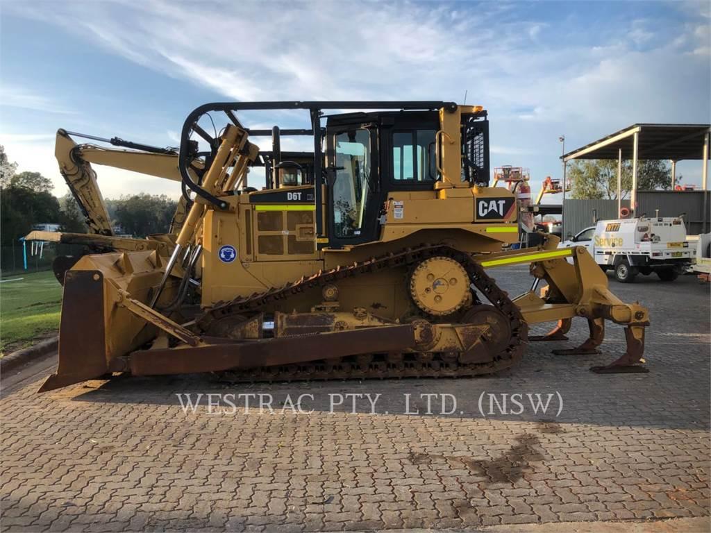 Caterpillar D6T, Bulldozers, Construcción