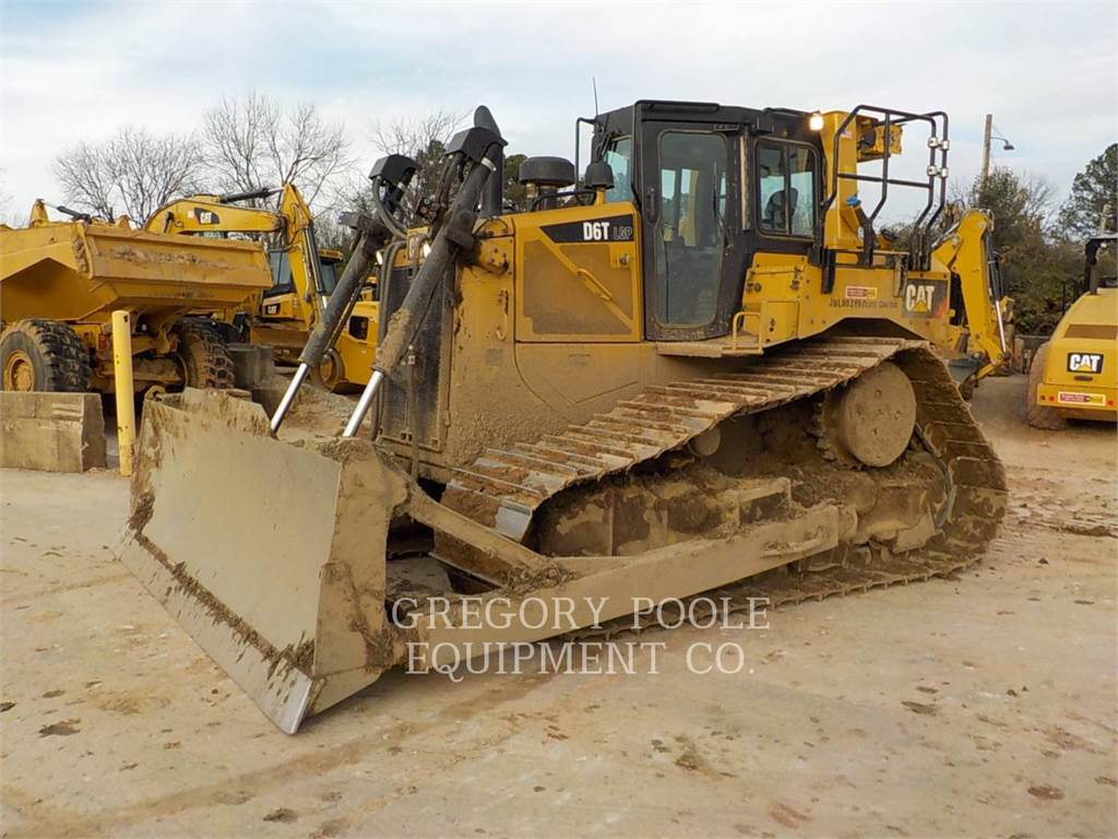 Caterpillar D6T LGP, Bulldozer, Équipement De Construction
