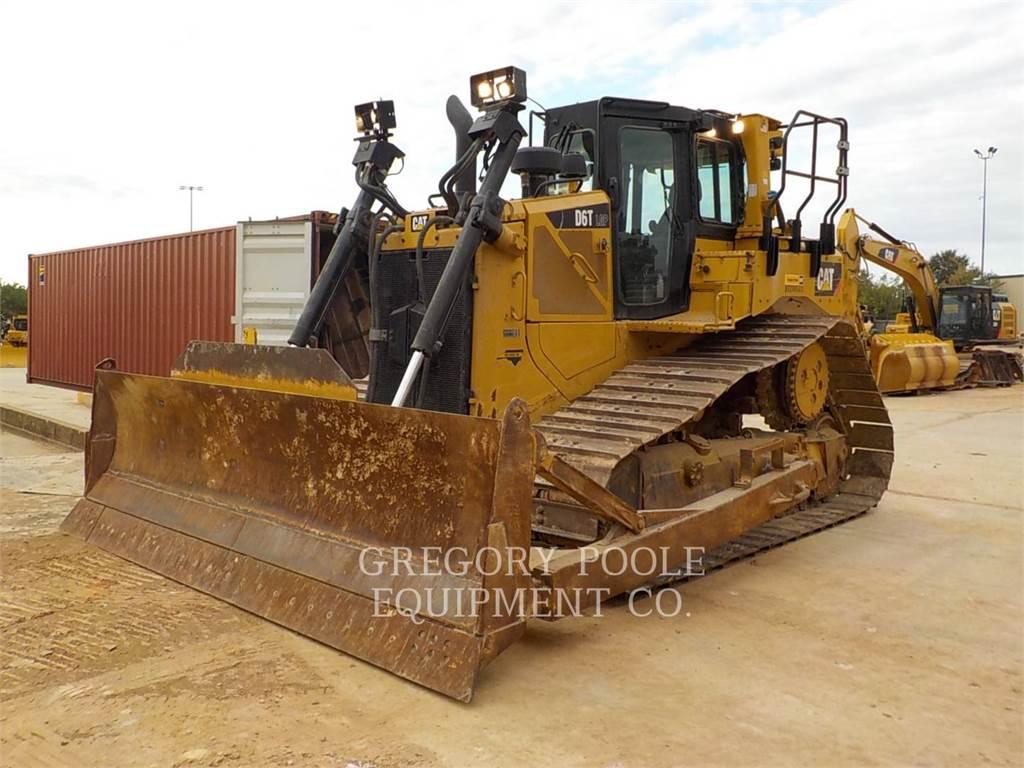 Caterpillar D6T LGP, Spycharki, Sprzęt budowlany