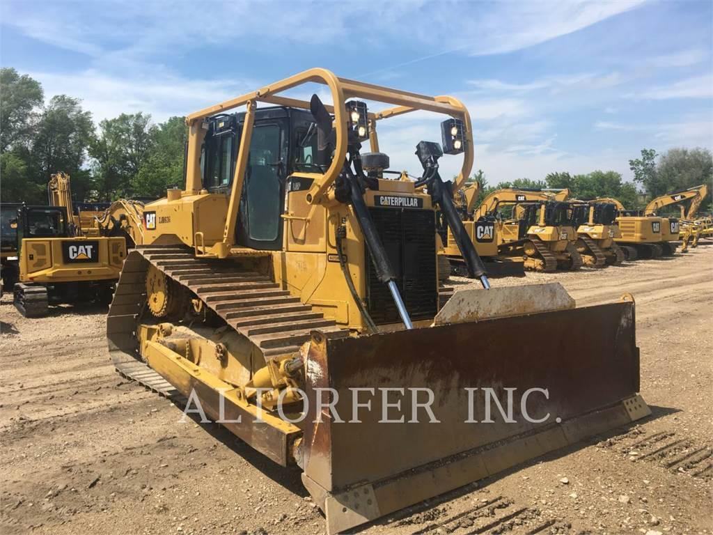 Caterpillar D6T LGP W, Bulldozer, Équipement De Construction