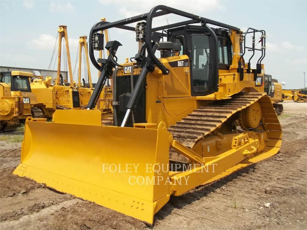 Caterpillar D6TLGP, Crawler dozers, Construction