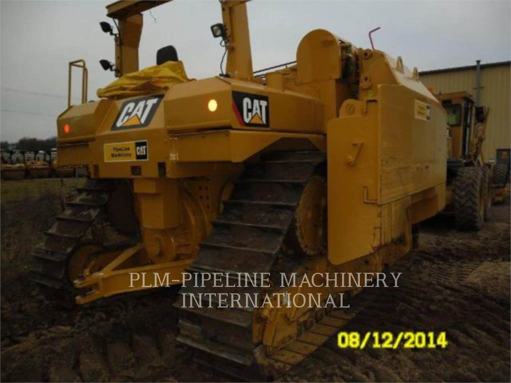 Caterpillar D6TLGPOEM, pipelayers, Construction