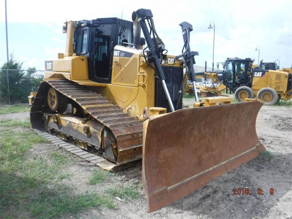 Caterpillar D6TLGPVP, Bulldozer, Équipement De Construction