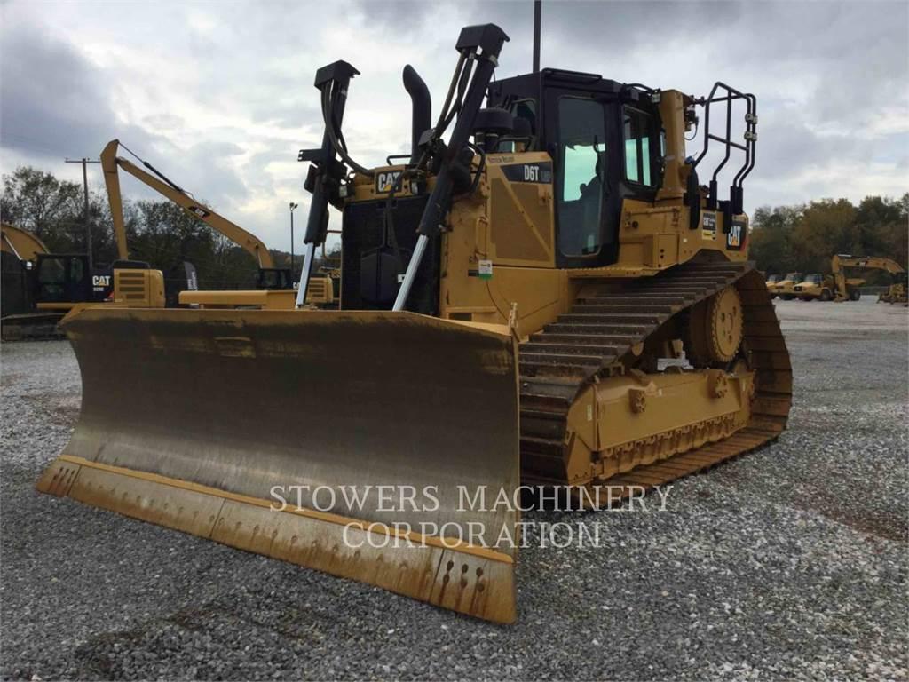 Caterpillar D6TLGPVPAT, Crawler dozers, Construction