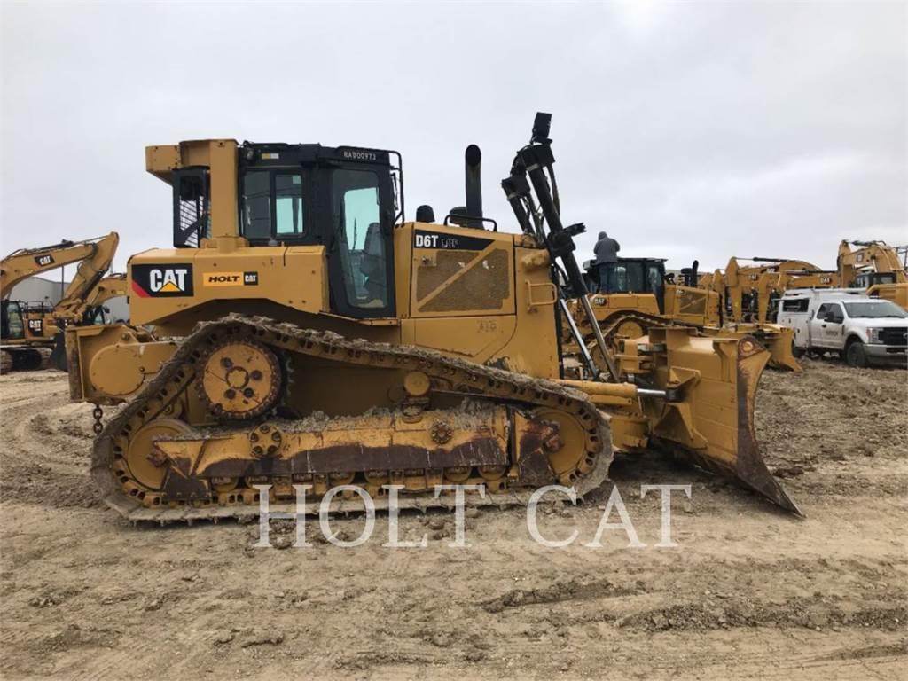 Caterpillar D6TVP、ブルドーザー、建設