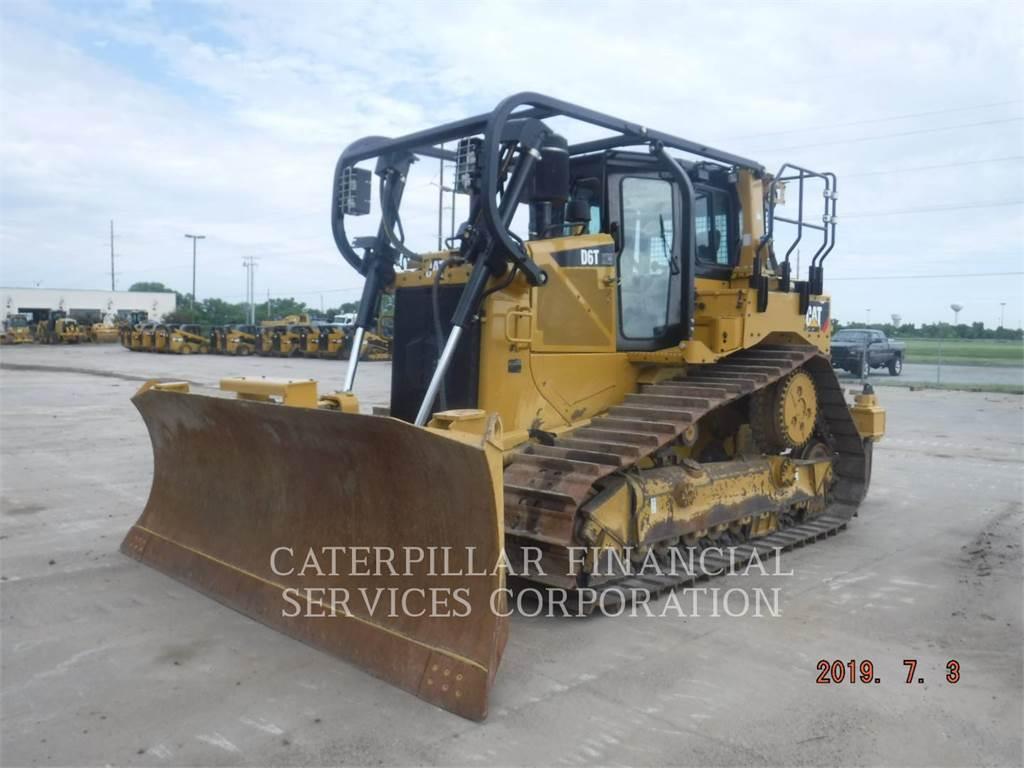 Caterpillar D6TVP, Buldozere, Constructii