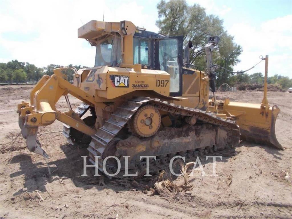 Caterpillar D6TVP、推土机、建筑设备