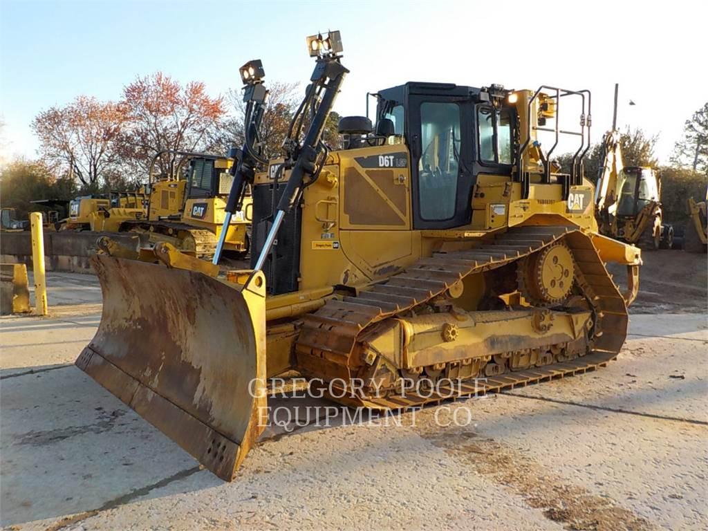 Caterpillar D6TVP, Spycharki, Sprzęt budowlany