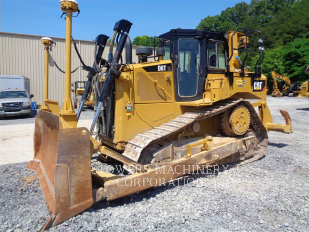 Caterpillar D6TXL, track loaders, Construction