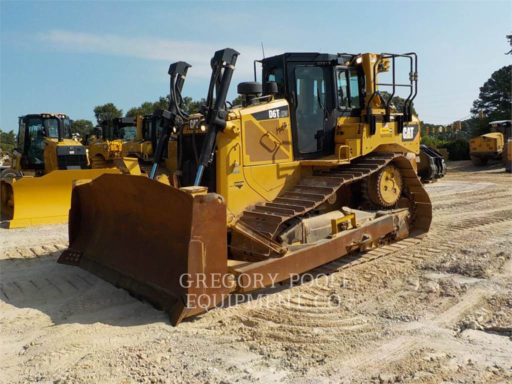 Caterpillar D6TXW, Bulldozer, Équipement De Construction