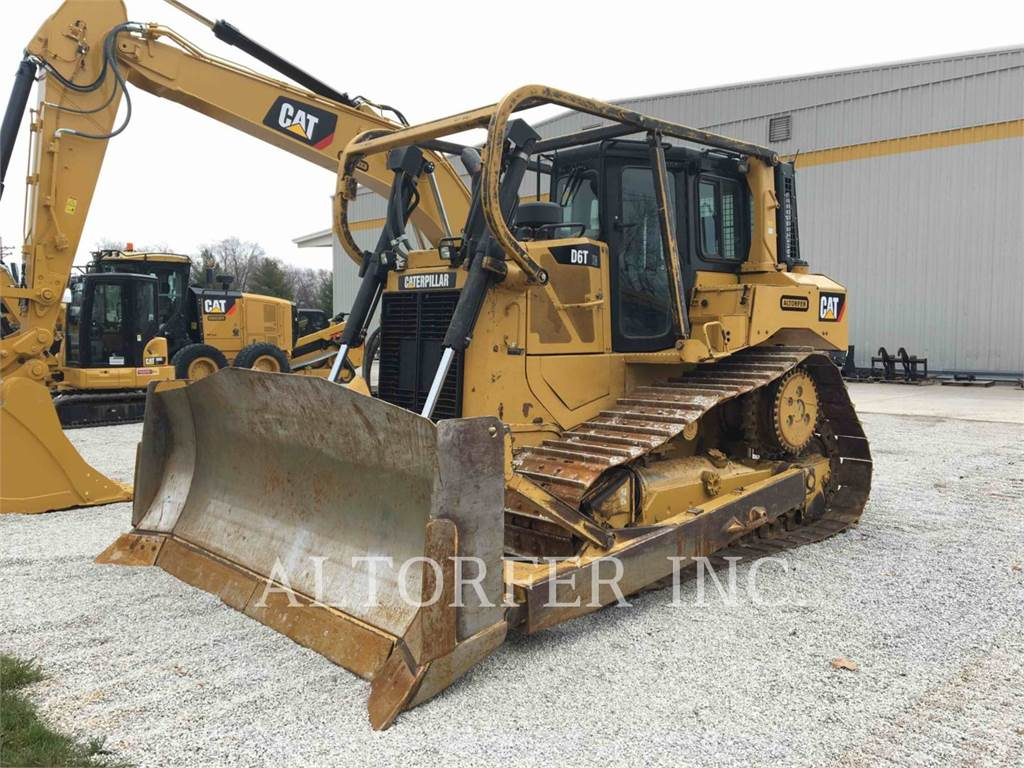 Caterpillar D6TXW, Bulldozer, Équipement De Construction