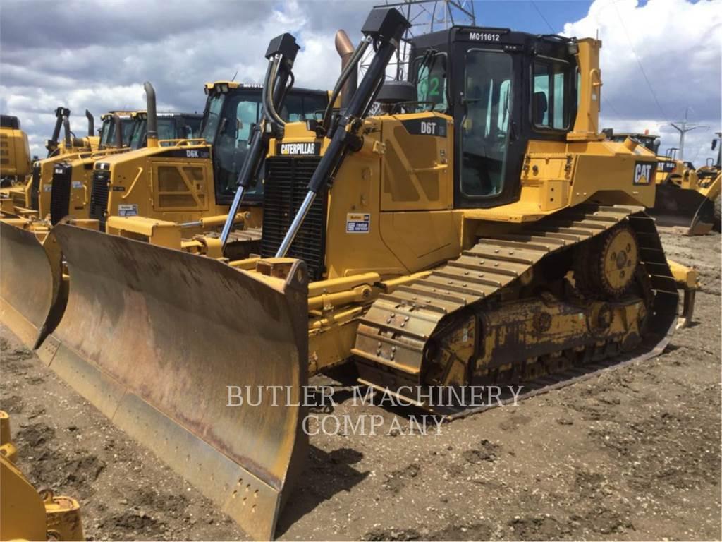 Caterpillar D6TXWVP, Bulldozers, Construcción