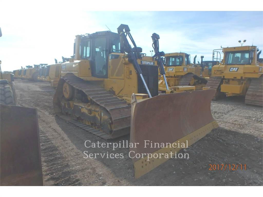Caterpillar D6TXWVP, Spycharki, Sprzęt budowlany