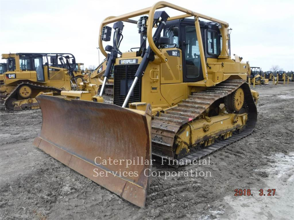 Caterpillar D6TXWVP, Bulldozer, Équipement De Construction