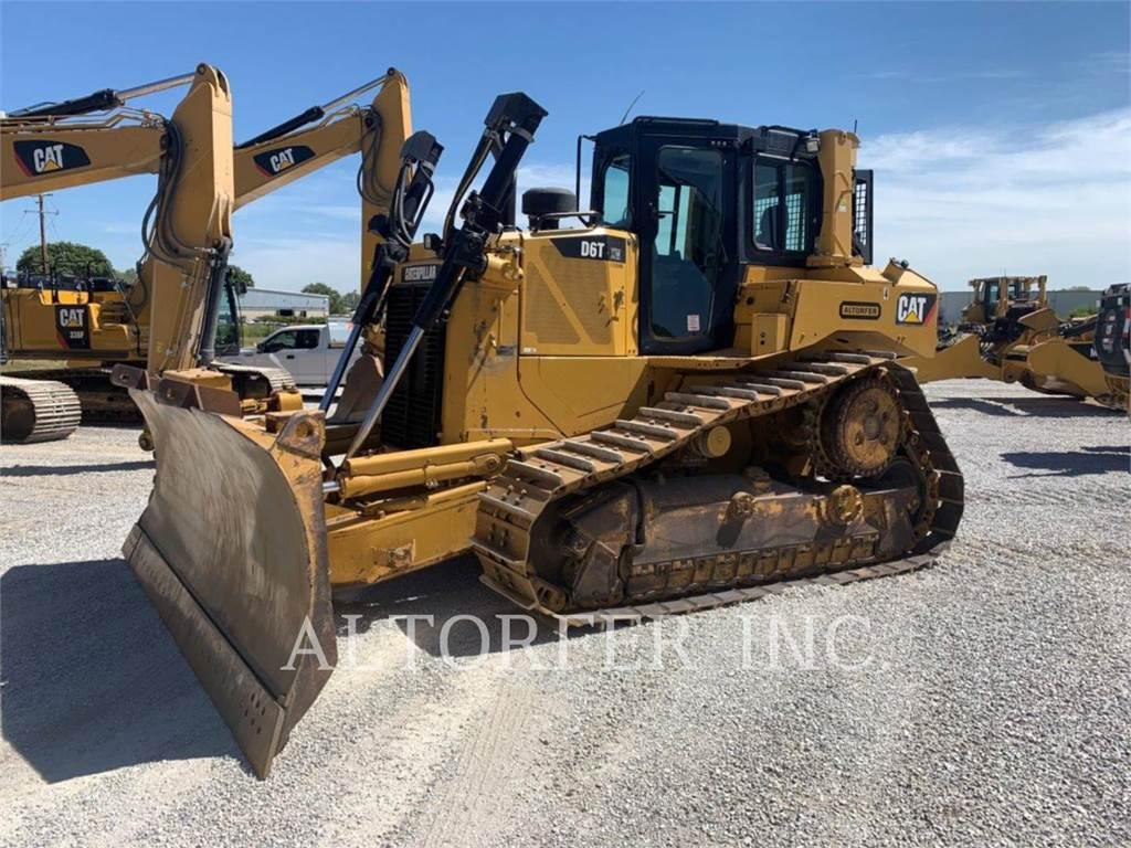 Caterpillar D6TXWVP、ブルドーザー、建設