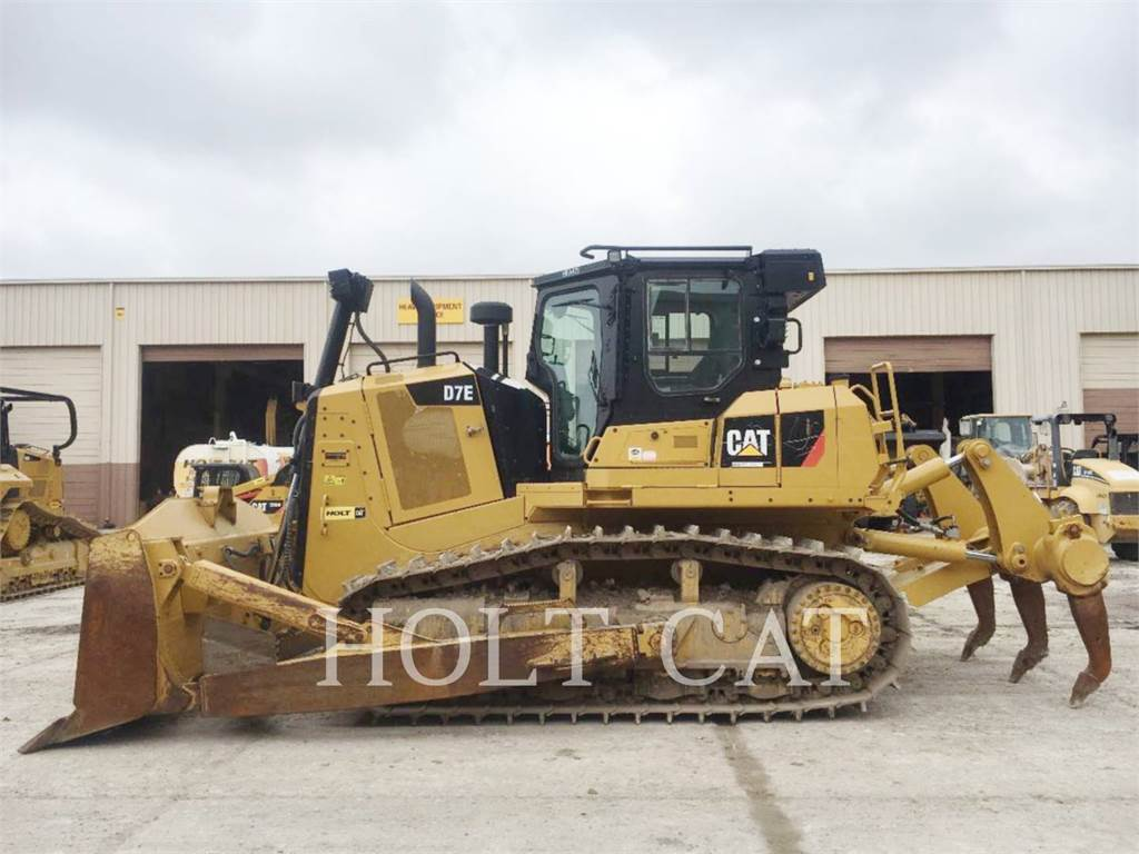 Caterpillar D7E, Bulldozer, Équipement De Construction