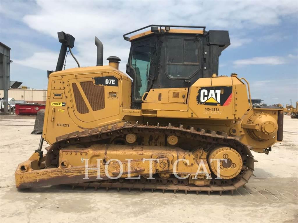 Caterpillar D7E ABWI, Buldozere, Constructii