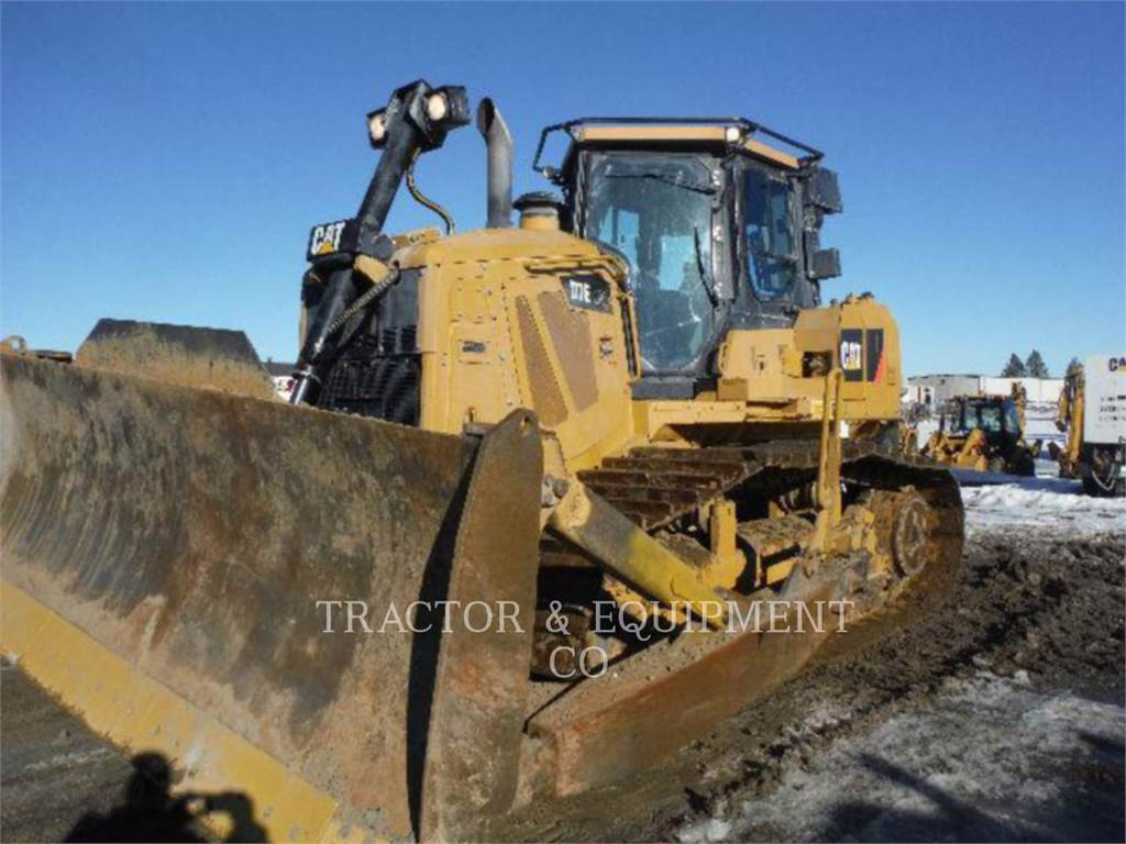 Caterpillar D7E LGP, Bulldozer, Équipement De Construction