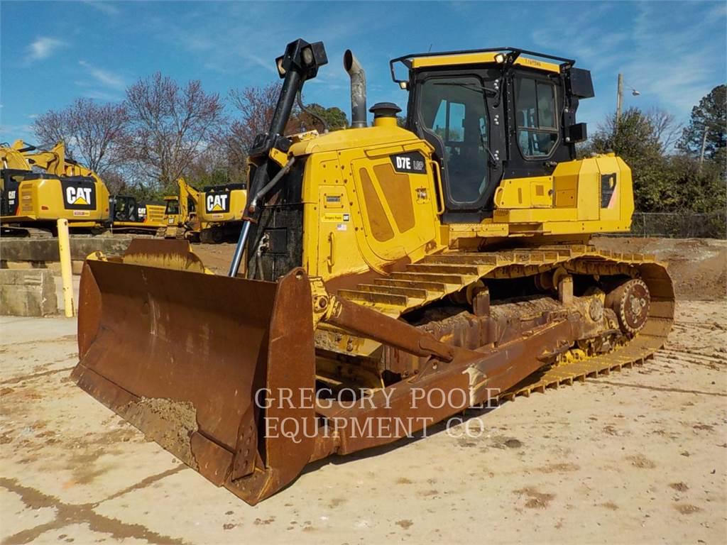 Caterpillar D7E LGP, Buldozere, Constructii