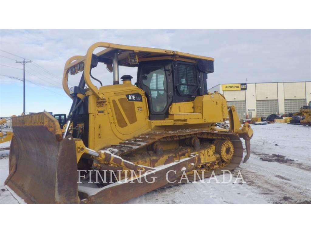 Caterpillar D7ELGP、推土机、建筑设备